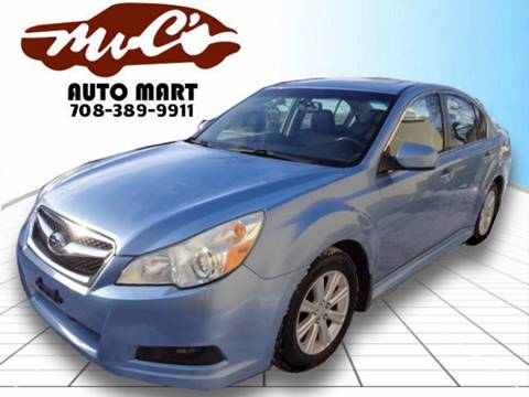 2010 Subaru Legacy for sale at Mr.C's AutoMart in Midlothian IL