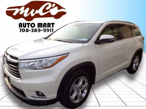 2014 Toyota Highlander for sale at Mr.C's AutoMart in Midlothian IL