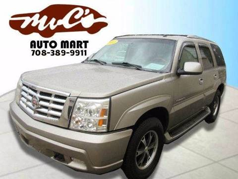 2003 Cadillac Escalade for sale at Mr.C's AutoMart in Midlothian IL