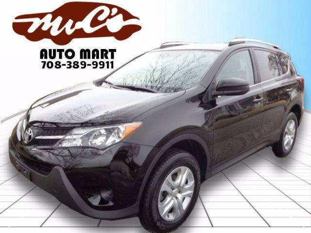 2014 Toyota RAV4 for sale at Mr.C's AutoMart in Midlothian IL