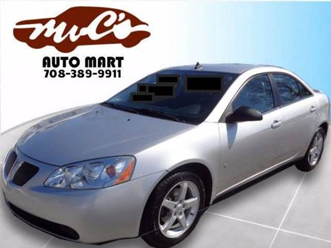 2009 Pontiac G6 for sale at Mr.C's AutoMart in Midlothian IL
