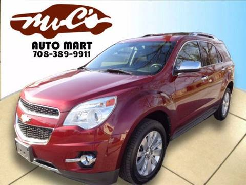 2010 Chevrolet Equinox for sale at Mr.C's AutoMart in Midlothian IL