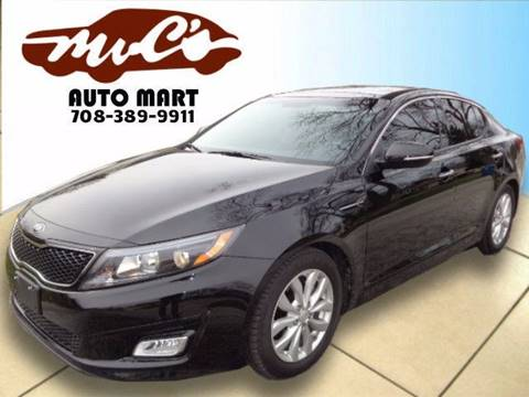 2014 Kia Optima for sale at Mr.C's AutoMart in Midlothian IL