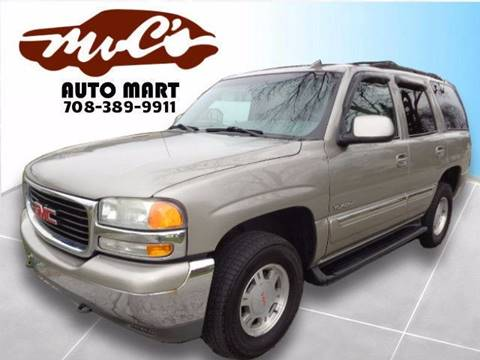 2001 GMC Yukon for sale at Mr.C's AutoMart in Midlothian IL
