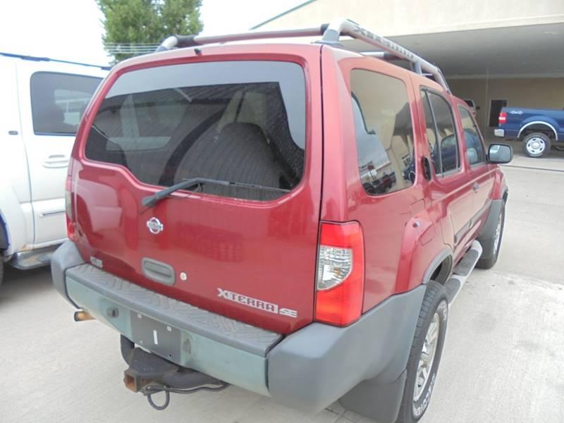 2001 Nissan Xterra Se 2wd 4dr Suv In Scottsbluff Ne Kick Kars