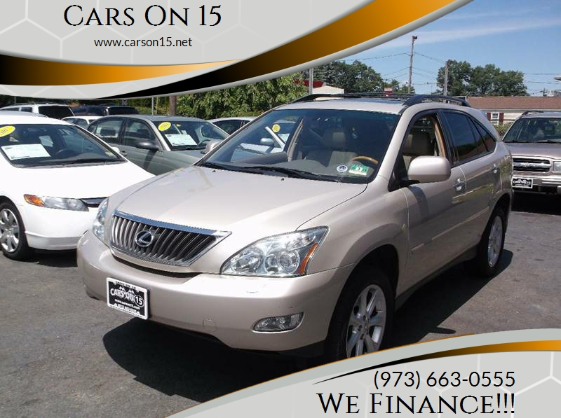 2008 Lexus RX 350 For Sale At Cars On 15 In Lake Hopatcong NJ