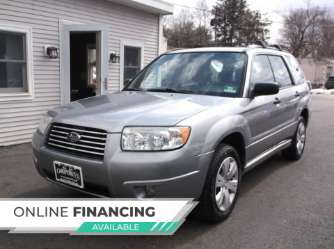 2008 Subaru Forester for sale at Cars On 15 in Lake Hopatcong NJ
