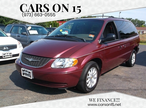 2002 Chrysler Town and Country for sale in Lake Hopatcong, NJ