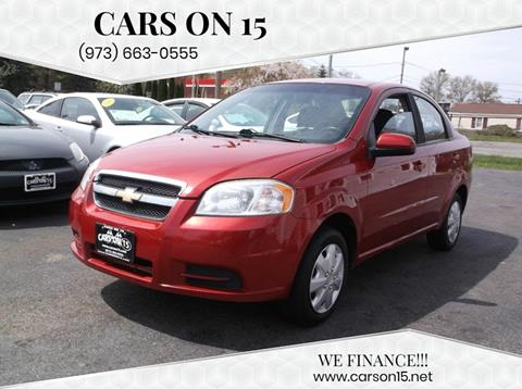 2011 Chevrolet Aveo for sale at Cars On 15 in Lake Hopatcong NJ