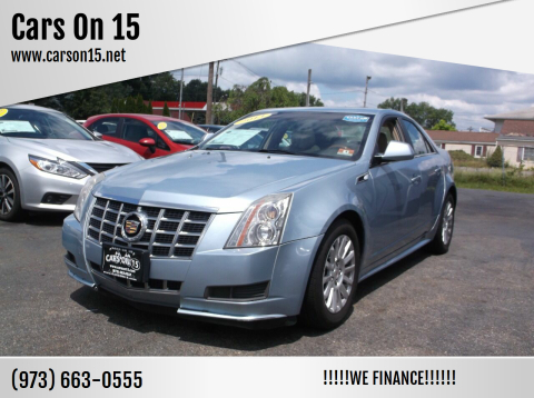 2013 Cadillac CTS for sale at Cars On 15 in Lake Hopatcong NJ