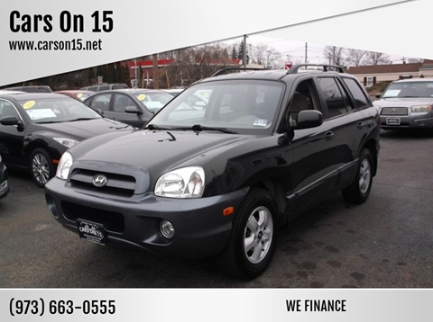 2006 Hyundai Santa Fe for sale at Cars On 15 in Lake Hopatcong NJ
