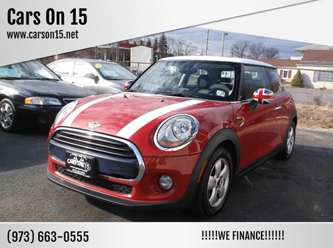 2016 MINI Hardtop 2 Door for sale at Cars On 15 in Lake Hopatcong NJ