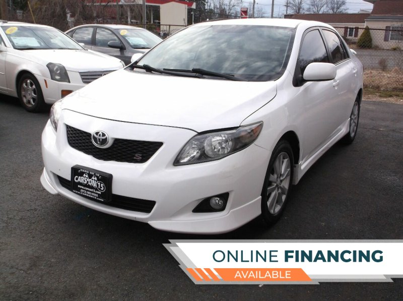 2009 Toyota Corolla for sale at Cars On 15 in Lake Hopatcong NJ