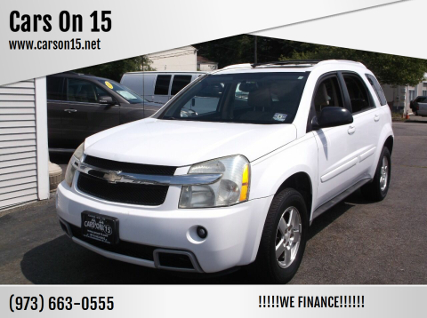 2005 Chevrolet Equinox for sale at Cars On 15 in Lake Hopatcong NJ