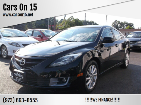 2012 Mazda MAZDA6 for sale at Cars On 15 in Lake Hopatcong NJ