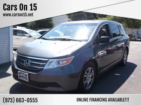 2011 Honda Odyssey for sale at Cars On 15 in Lake Hopatcong NJ