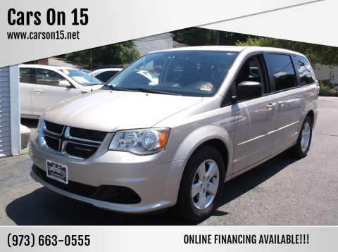 2013 Dodge Grand Caravan for sale at Cars On 15 in Lake Hopatcong NJ