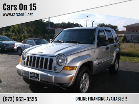 2006 Jeep Liberty for sale at Cars On 15 in Lake Hopatcong NJ