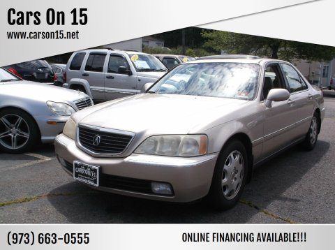 1999 Acura RL for sale at Cars On 15 in Lake Hopatcong NJ