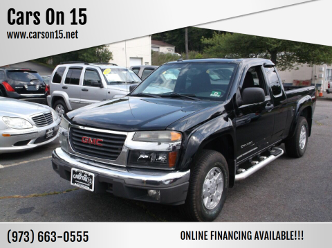 2005 GMC Canyon for sale at Cars On 15 in Lake Hopatcong NJ
