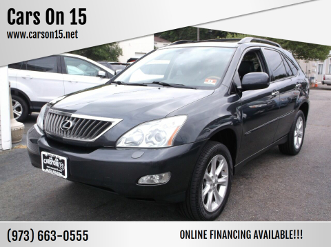 2009 Lexus RX 350 for sale at Cars On 15 in Lake Hopatcong NJ