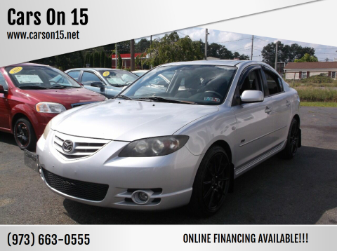 2004 Mazda MAZDA3 for sale at Cars On 15 in Lake Hopatcong NJ