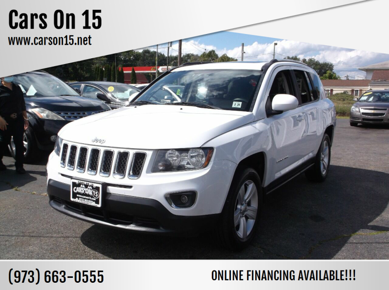 2015 Jeep Compass for sale at Cars On 15 in Lake Hopatcong NJ