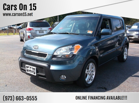 2011 Kia Soul for sale at Cars On 15 in Lake Hopatcong NJ