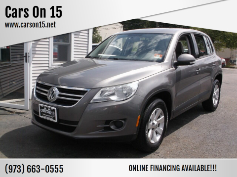 2010 Volkswagen Tiguan for sale at Cars On 15 in Lake Hopatcong NJ