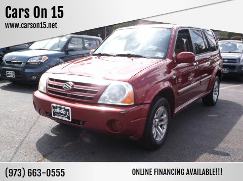 2004 Suzuki XL7 for sale at Cars On 15 in Lake Hopatcong NJ