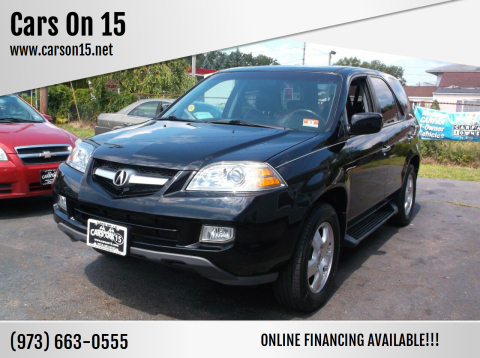 2005 Acura MDX for sale at Cars On 15 in Lake Hopatcong NJ