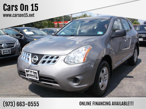 2013 Nissan Rogue for sale at Cars On 15 in Lake Hopatcong NJ
