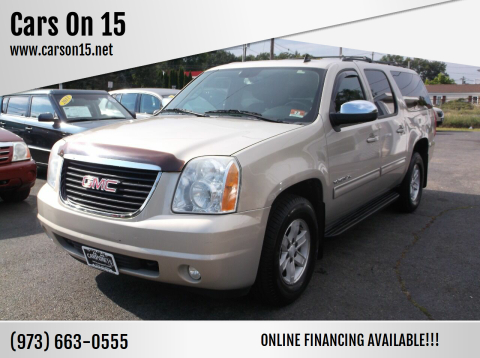 2010 GMC Yukon XL for sale at Cars On 15 in Lake Hopatcong NJ