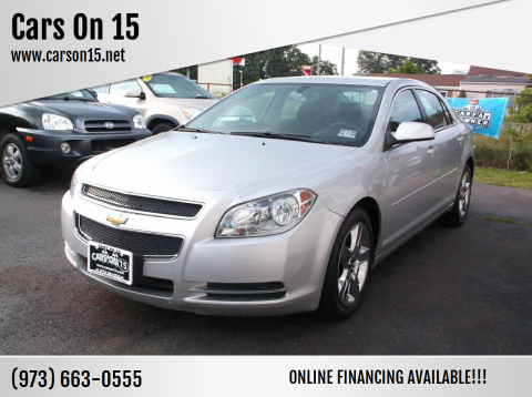 2010 Chevrolet Malibu for sale at Cars On 15 in Lake Hopatcong NJ