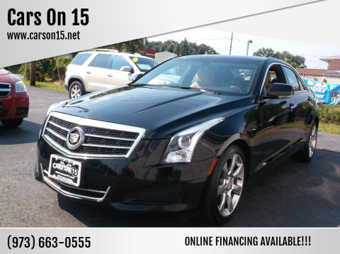 2014 Cadillac ATS for sale at Cars On 15 in Lake Hopatcong NJ