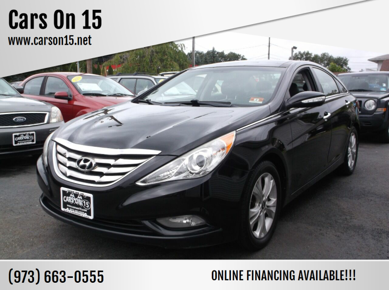 2012 Hyundai Sonata for sale at Cars On 15 in Lake Hopatcong NJ