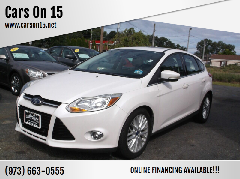 2012 Ford Focus for sale at Cars On 15 in Lake Hopatcong NJ