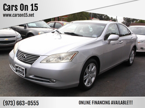 2008 Lexus ES 350 for sale at Cars On 15 in Lake Hopatcong NJ