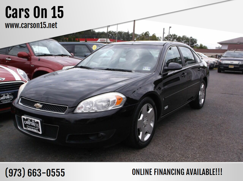 2008 Chevrolet Impala for sale at Cars On 15 in Lake Hopatcong NJ