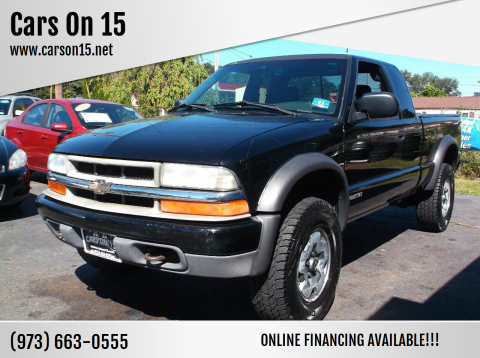 2002 Chevrolet S-10 for sale at Cars On 15 in Lake Hopatcong NJ