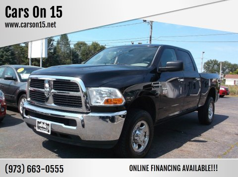 2012 RAM Ram Pickup 2500 for sale at Cars On 15 in Lake Hopatcong NJ