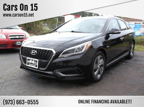 2017 Hyundai Sonata Hybrid for sale at Cars On 15 in Lake Hopatcong NJ