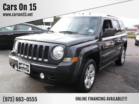 2011 Jeep Patriot for sale at Cars On 15 in Lake Hopatcong NJ