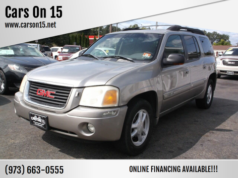 2002 GMC Envoy XL for sale at Cars On 15 in Lake Hopatcong NJ