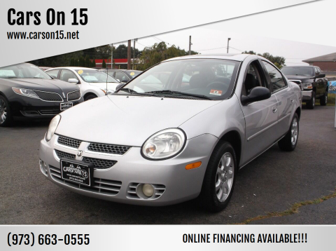 2005 Dodge Neon for sale at Cars On 15 in Lake Hopatcong NJ