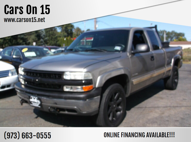 2002 Chevrolet Silverado 1500 for sale at Cars On 15 in Lake Hopatcong NJ