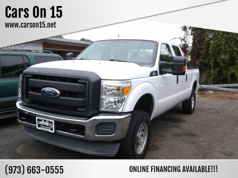2012 Ford F-250 Super Duty for sale at Cars On 15 in Lake Hopatcong NJ