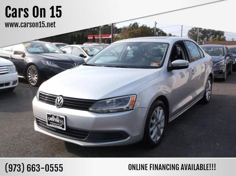 2012 Volkswagen Jetta for sale at Cars On 15 in Lake Hopatcong NJ