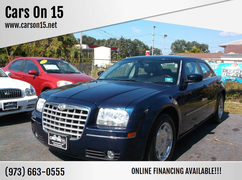 2005 Chrysler 300 for sale at Cars On 15 in Lake Hopatcong NJ