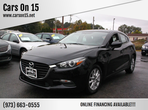2017 Mazda MAZDA3 for sale at Cars On 15 in Lake Hopatcong NJ